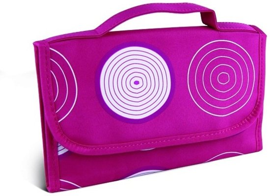 Donegal Cosmetic Bag Pink Patroon - 4911