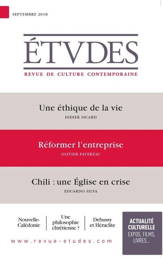 Etudes : une éthique de la vie