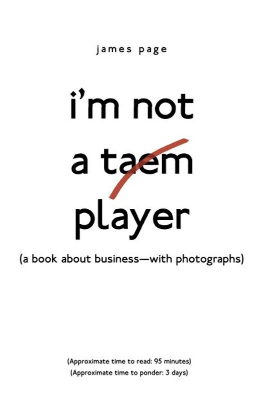 I'M Not a Taem Player