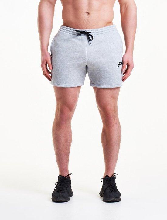 a9cde9a4d6eef bol.com   Sport Shorts Heren Grijs - Pursue Fitness Icon Tapered
