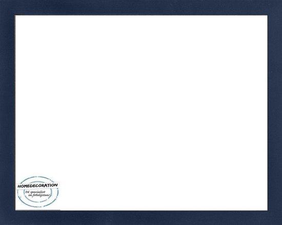 Homedecoration Misano – Fotolijst – Fotomaat – 40 x 84 cm  – Donkerblauw