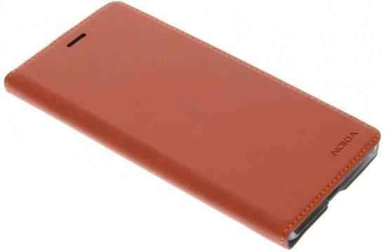 Nokia Slim Flip Case - bruin koper - voor Nokia 5 (2017 editie)