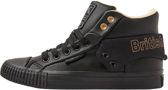 8bbf0781e00 British Knights ROCO-SNT DAMES SNEAKERS HOOG, BLACK, 38, SYNTHETISCH ...
