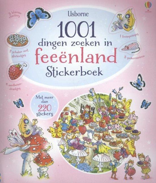 1001 DINGEN ZOEKEN IN FEEENLAND STICKERBOEK