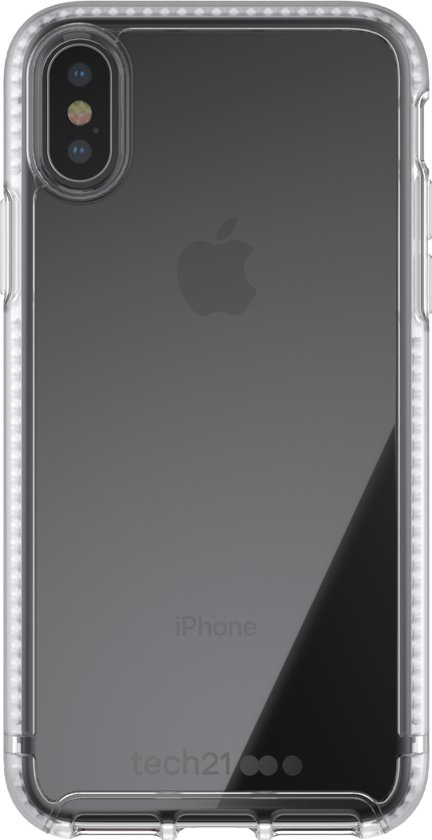 brand new 772d6 383e9 bol.com | Tech21 Pure Clear iPhone X - Transparant