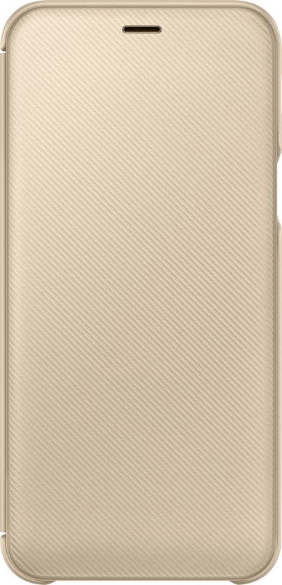 Samsung flip wallet - goud - voor Samsung A600 Galaxy A6
