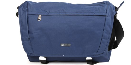 AdventureBags Large - Schoudertas - Dark Navy