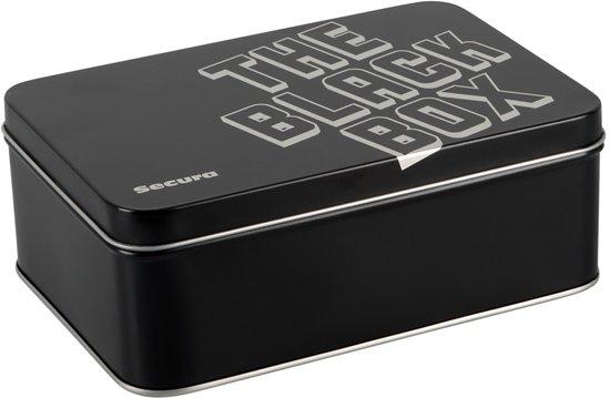 The Black Box - 50 Genopte Condooms