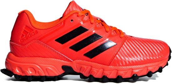 adidas Junior Hockeyschoenen Outdoor schoenen rood 28