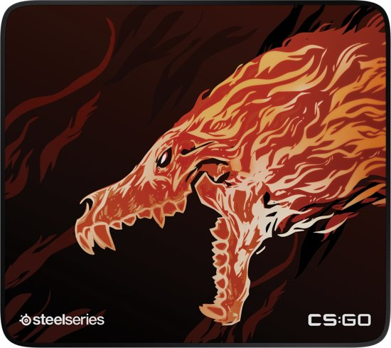 SteelSeries Qck Plus - Gaming Muismat - CS:GO Howl Edition - Large