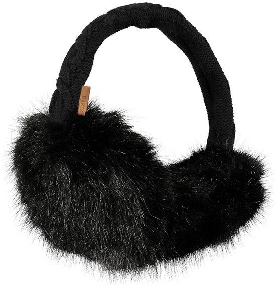 Barts Fur oorwarmers dames zwart
