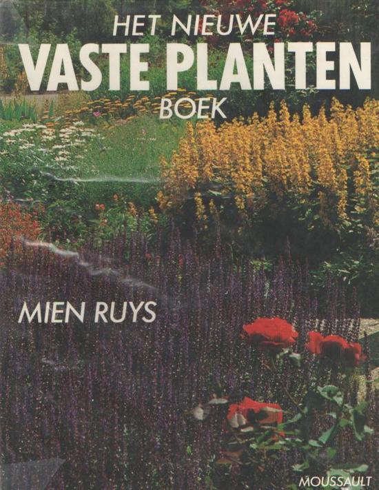 Nieuwe vaste planten boek