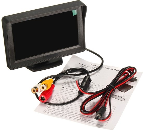 4.3 inch TFT LCD Car Color Rear View Reversing Monitor Display Screen for DVD GPS