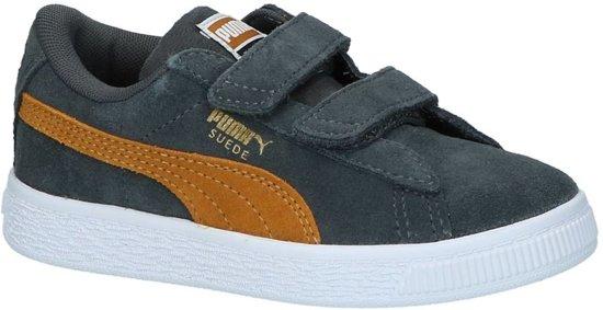 01d345448f4 bol.com | Puma Jongens Sneakers Suede Classic Inf - Grijs - Maat 35