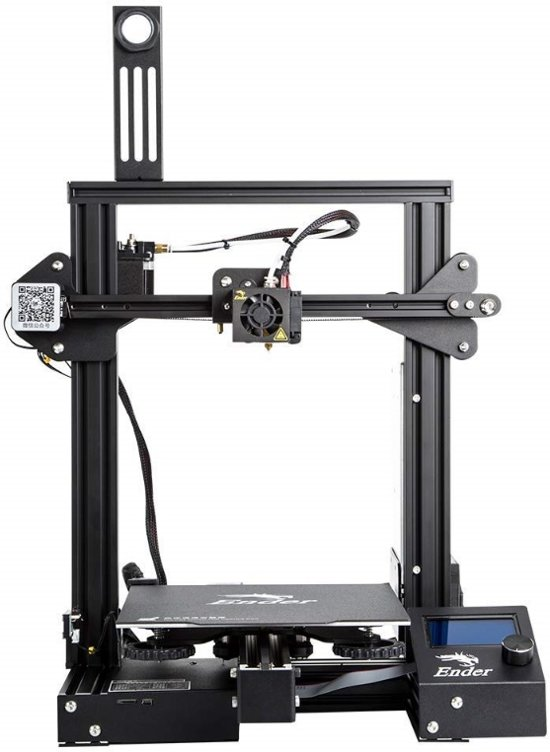 CREALITY Ender-3 PRO 3D-printer met magnetisch bed  220x220x250 mm