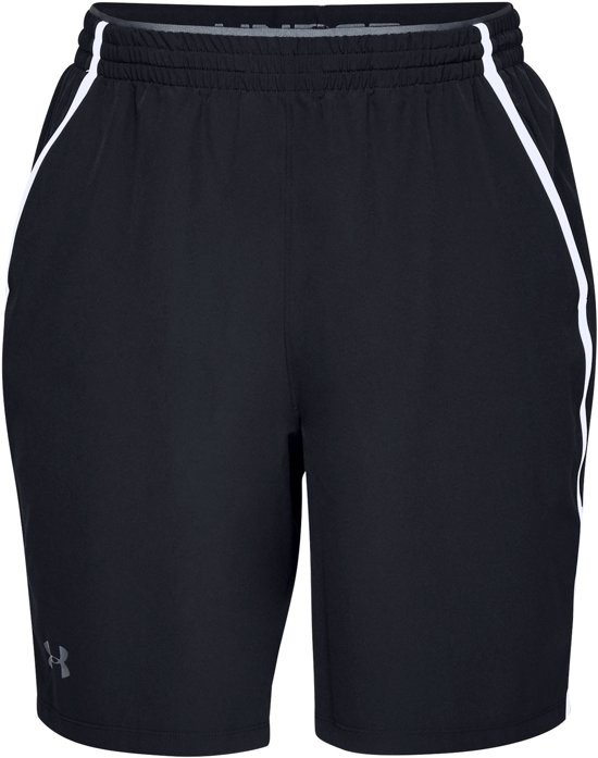 Under Armour Qualifier WG Performance Short Sportbroek Heren - Zwart - Maat L