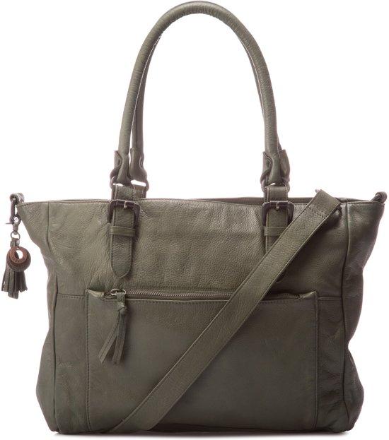 Legend Bags Milano - Handtas - groen