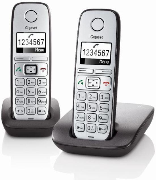 Gigaset E310 - Duo DECT telefoon - Zilver