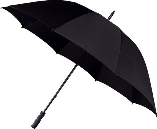 Falcone® Extra Strong Paraplu - Ø 130 cm - Zwart
