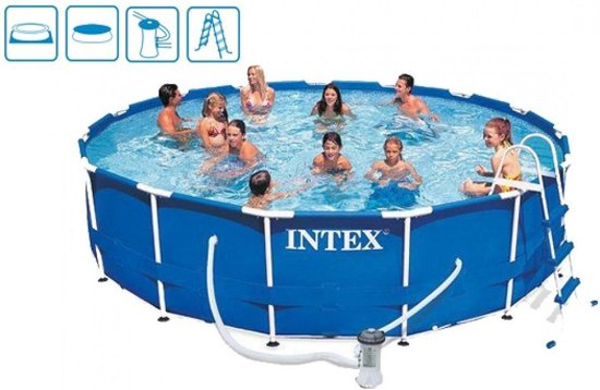 Intex Metal Frame zwembad 457 x 84