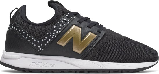 new balance sneakers zwart dames