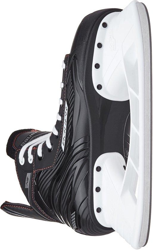 Bauer Schaatsen - Maat 35 - Unisex - zwart/rood/wit