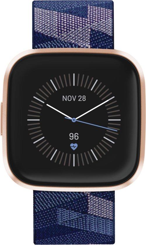 Fitbit Versa 2 SE - Smartwatch - Koper roze