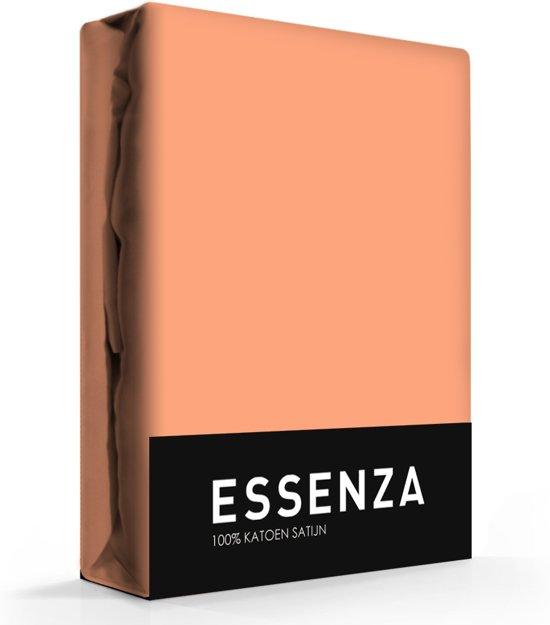Essenza Hoeslaken Satijn Eenpersoons - Peach 90x200