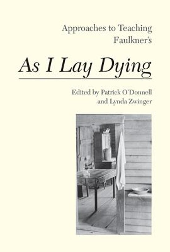 faulkner s as i lay dying techniques