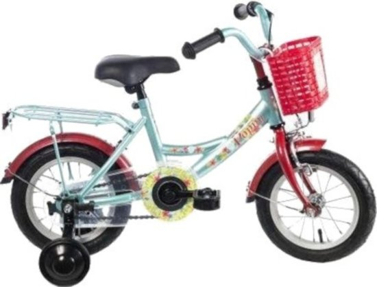Licht Voor Fiets : Bol.com bike fun poppy fiets meisjes licht blauw 12 inch