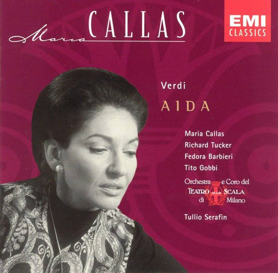 Verdi: Aida (highlights) / Callas, Tucker, Gobbio et al