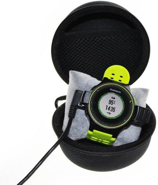 Universele Smartwatch / Activity Tracker Hard Cover Carry Case - Zwart