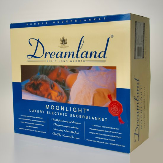 89b491c2285 bol.com | Dreamland Moonlight Elektrisch Deken - 2 persoons - 142x122cm