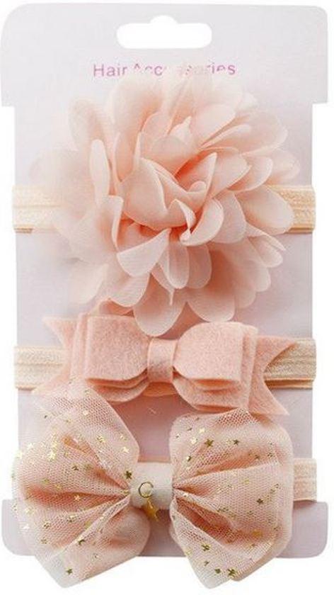 Bolcom Haarbandjes Baby Roze Baby Peuter Haar Accessoires