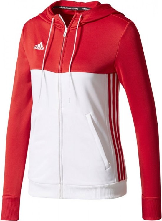 Adidas T16 'Offcourt' Hoody Dames Sweaters rood L