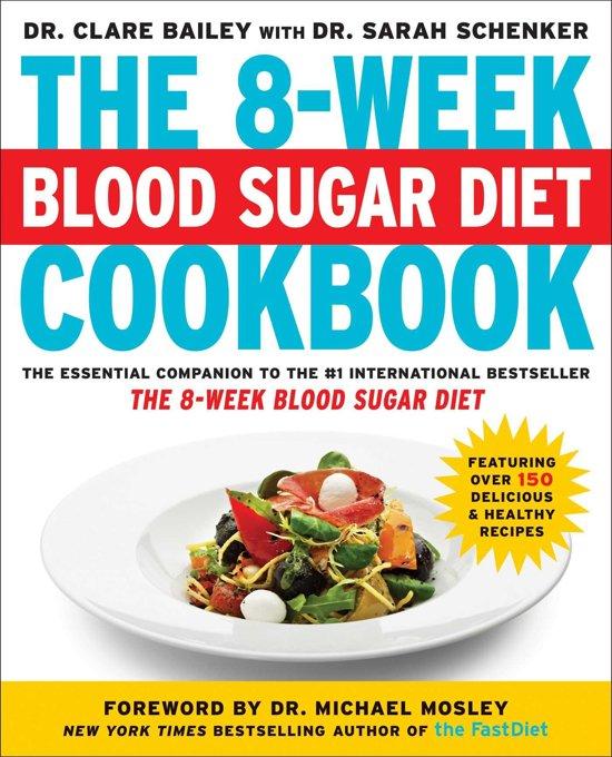 Boek cover The 8-Week Blood Sugar Diet Cookbook van Dr. Clare Bailey (Onbekend)