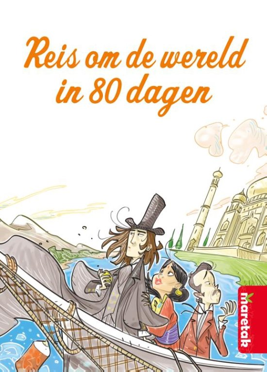 Boek cover Best Books Forever - Reis om de wereld in 80 dagen van Jules Verne (Hardcover)