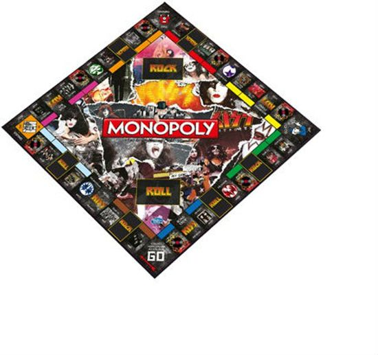 Monopoly - Kiss Rock Band - Engelstalig