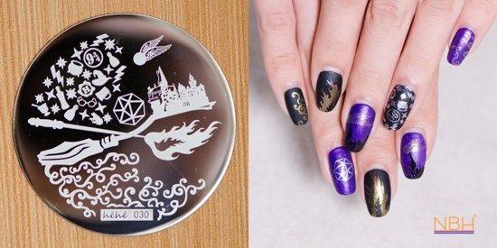 Stamping Plate 030 / nagel stempel- sjabloon