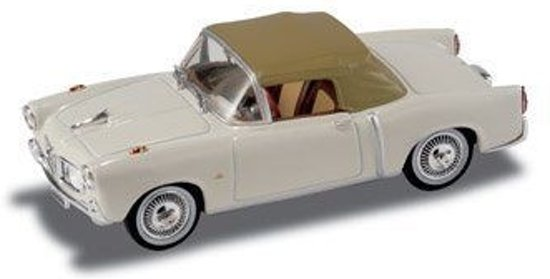 Fiat 1100 TV 1959 ivory, green cab 1:43