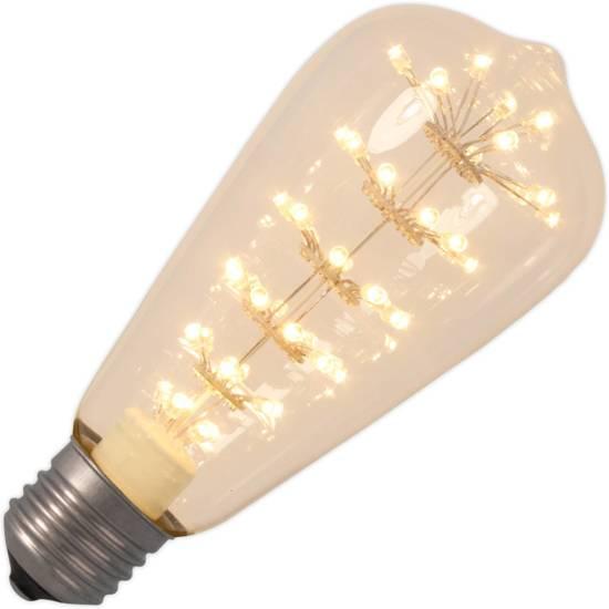 Calex Pearl E27 LED Gloeilamp 2.9W=28W Flame 2100K 230VAC 360° 474412