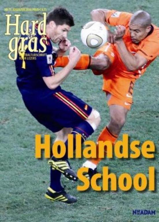 Cover van het boek 'Hard Gras / 73 Hollandse School'