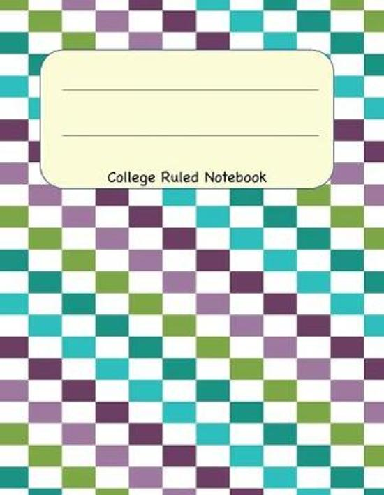 College Ruled Notebook: 8.5 x 11 Journal 100 Pages