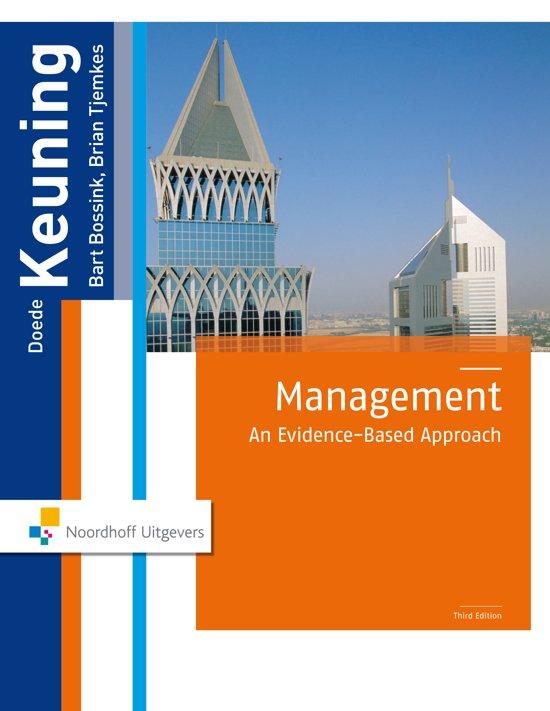 Boek cover Management van D. Keuning (Paperback)