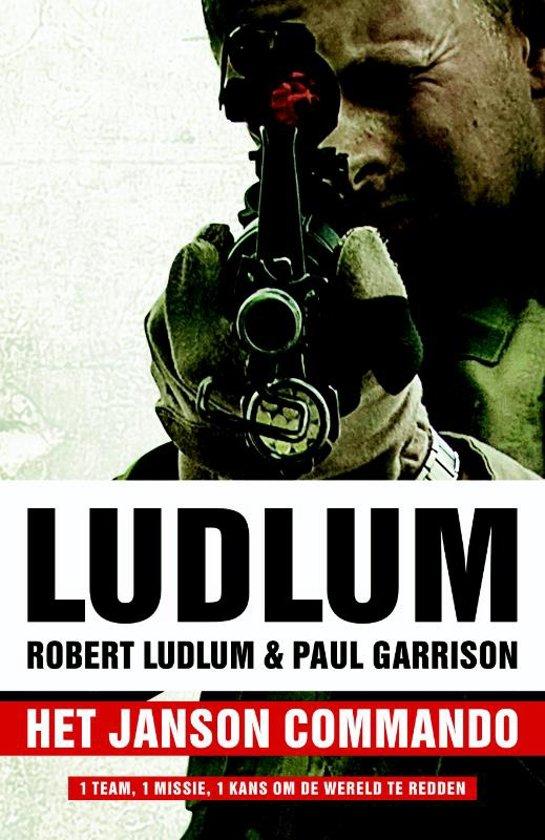 Boek cover Het Janson commando van Robert Ludlum (Paperback)