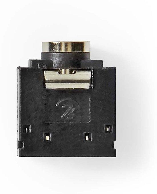 Nedis Bevestiging voor Stereo-AudioHousing 3.5mm F 25pcs BK