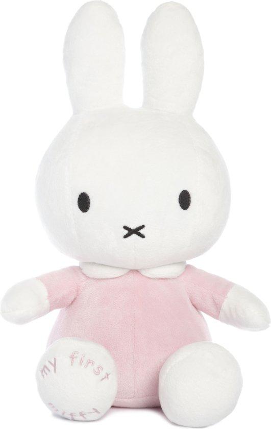 roze knuffel konijn