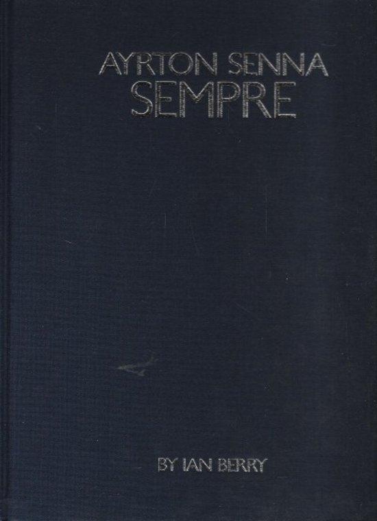 Ayrton Senna Sempre kunstboek