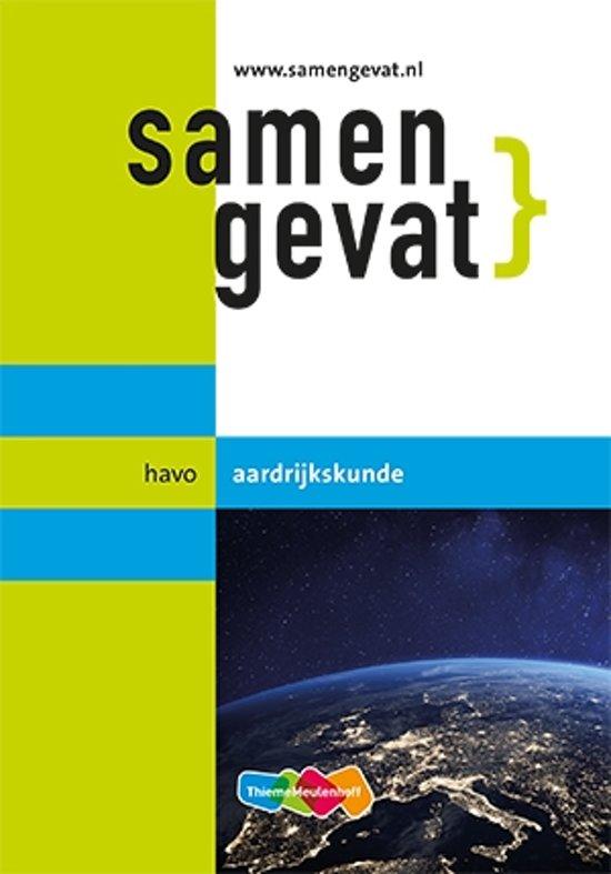 Boek cover Samengevat havo Aardrijkskunde 6e druk van H.J.C. Kasbergen (Paperback)