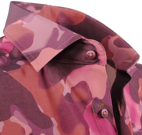 Licht Overhemd Paars Slim PradzHeren Fit Camouflage dxBoeWCQr
